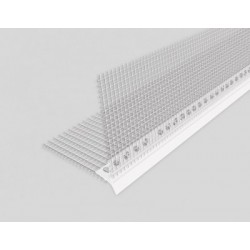 PVC profile with eaves 2,5mb