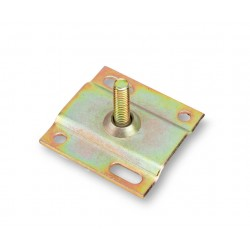 Pipe bracket foot for layer board